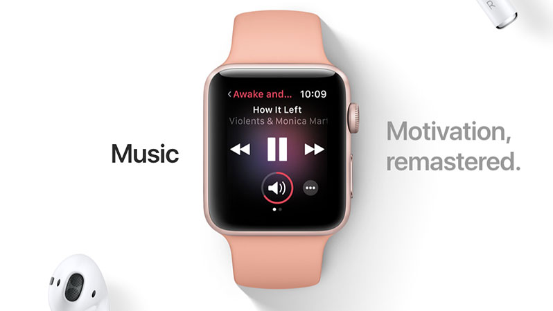 watchos 4 music