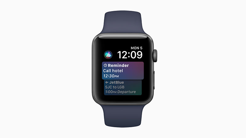 watchos4 intelligence