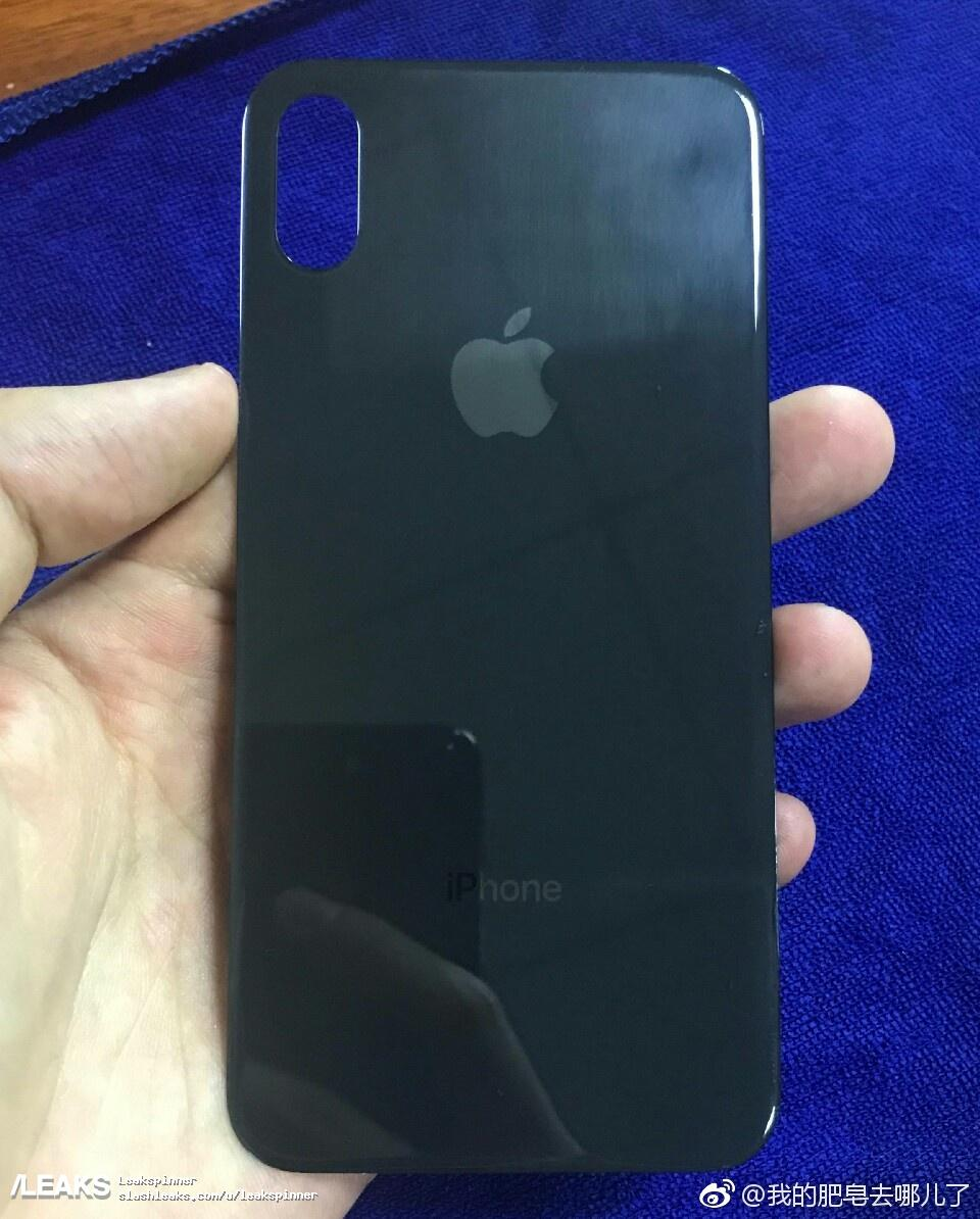 rear panel of iPhone 8