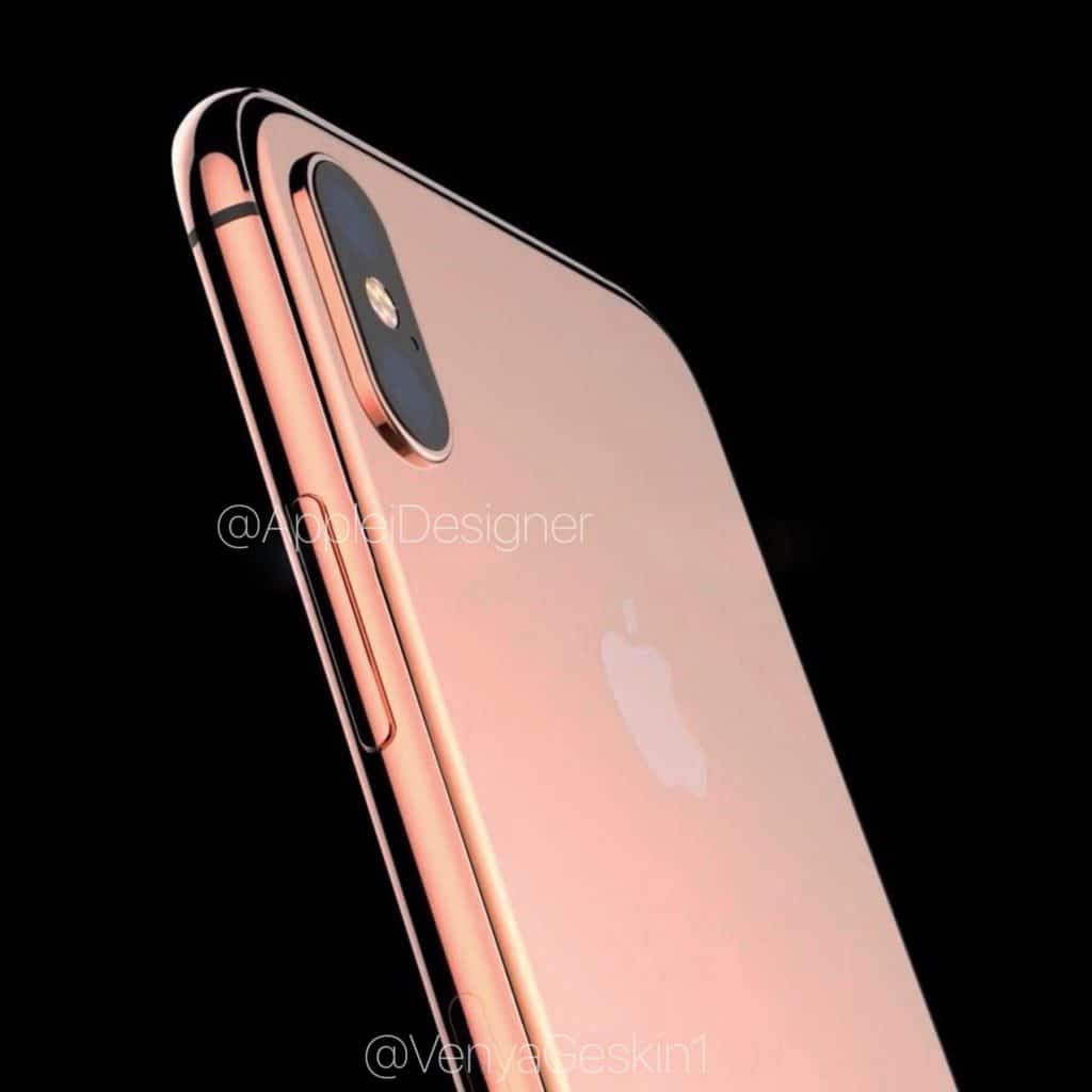iPhone 8 Copper Gold render 002