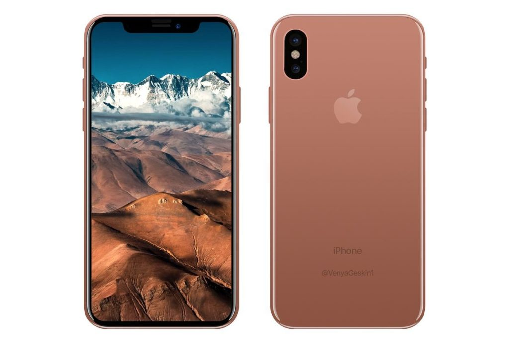 iPhone 8 Copper  render 001