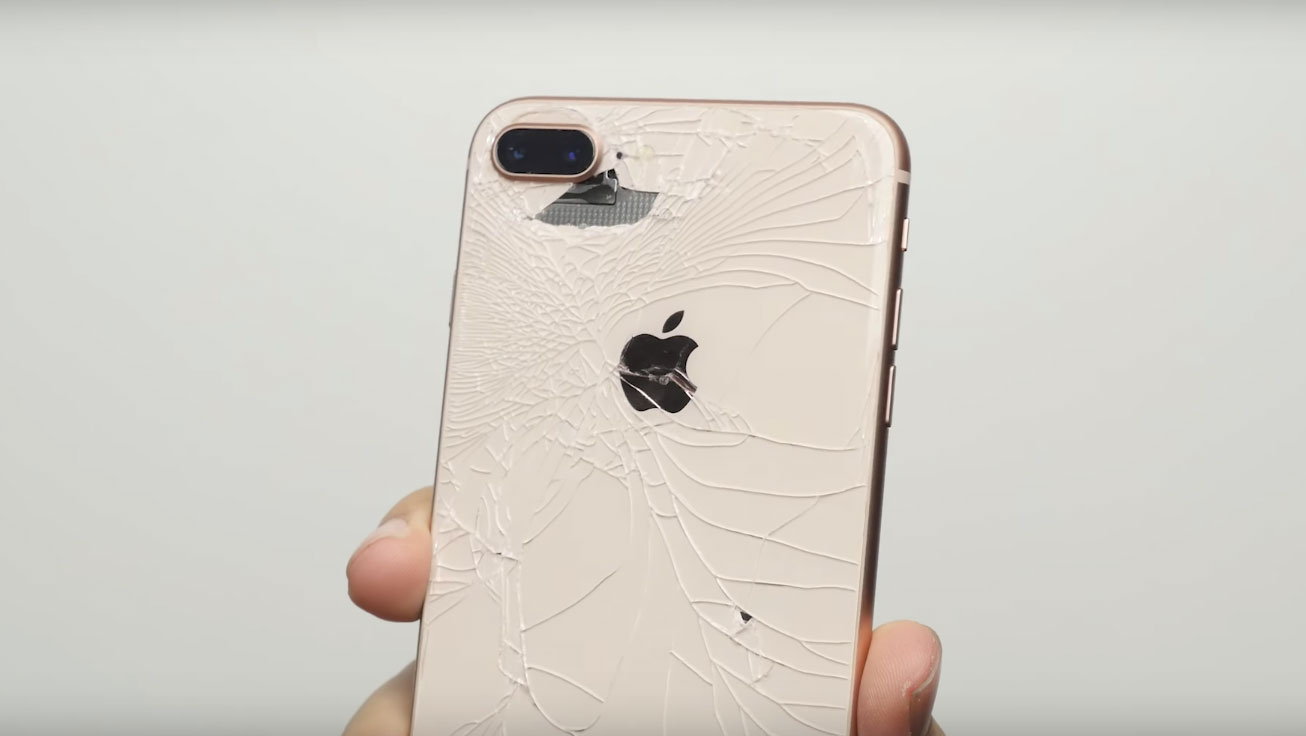 iphone 8 glass back costs more than display