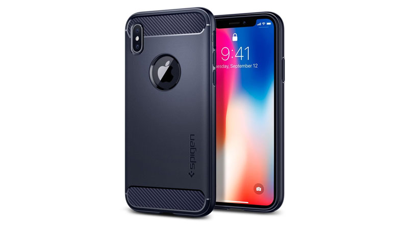 Spigen Rugged Armor best iphone x cover