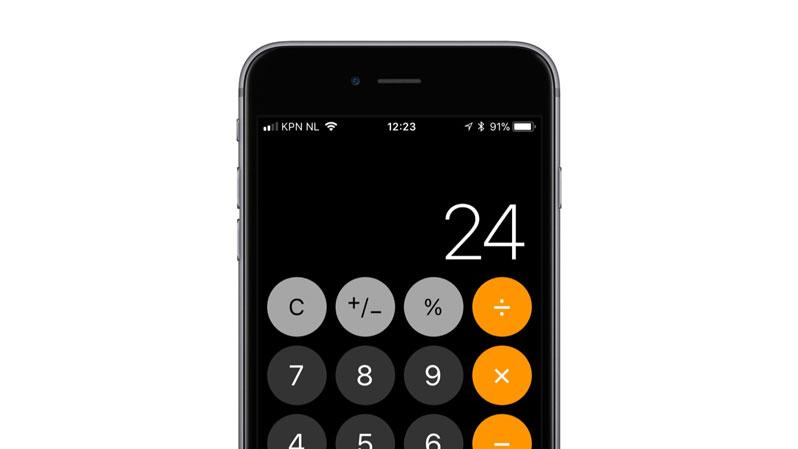 ios 11.2 fixes calculator lag