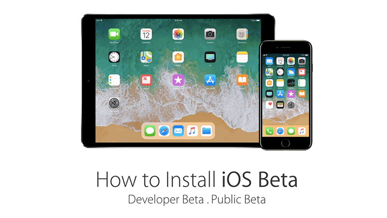 install ios 11.1 developer or public beta