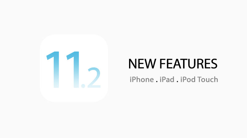 ios 11.2 features what is new