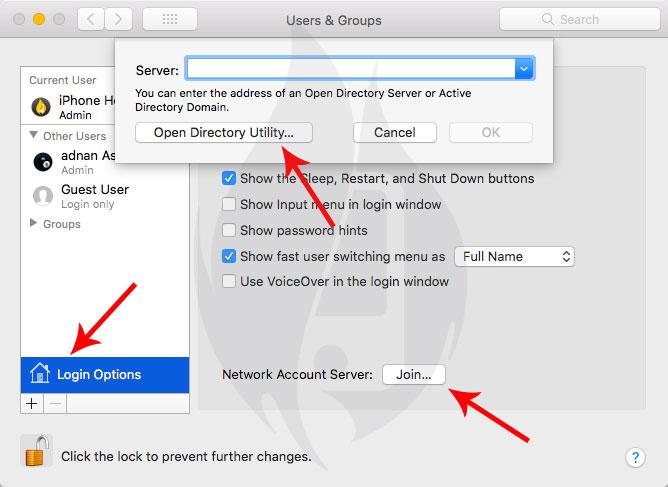change macos high sierra root password