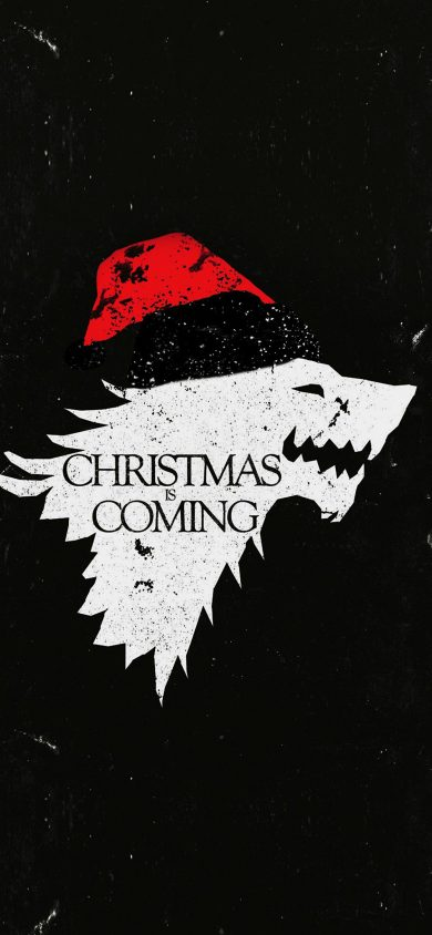 christmas is coming iPhone x Wallpaper