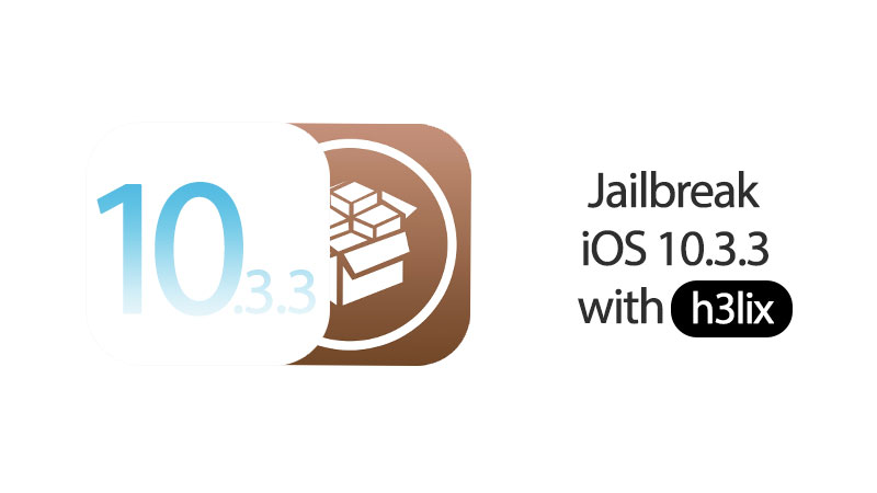 jailbreak ios 10.3.3 with h3lix