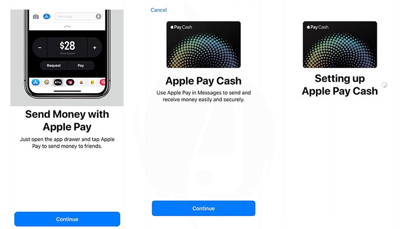 setup apple pay cash