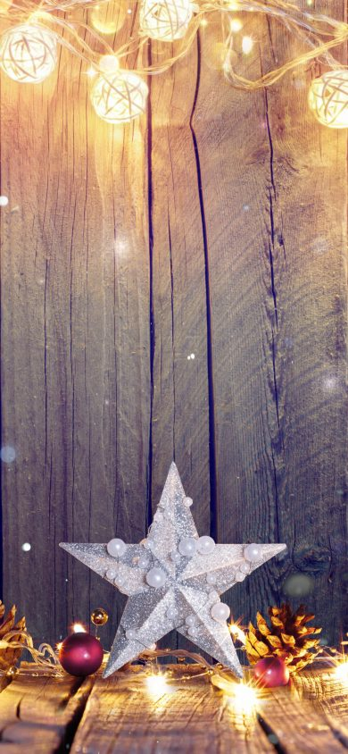 wooden christmas wallpaper for iPhone x