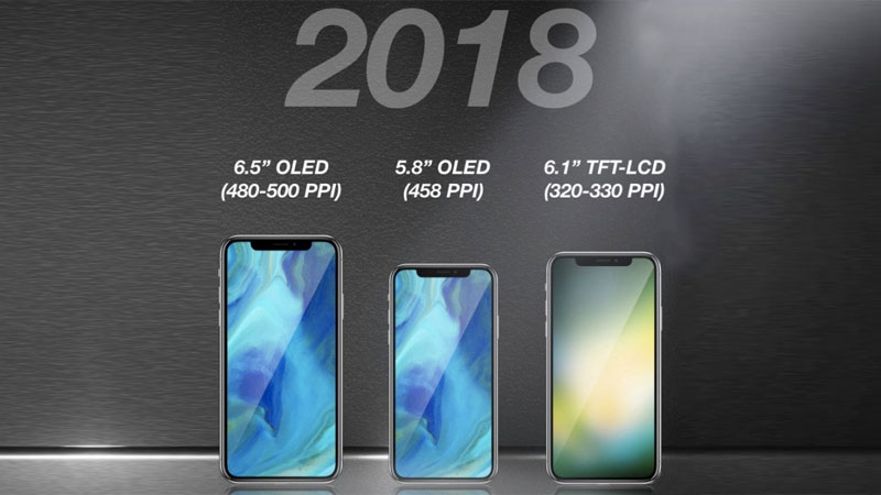 2018 iphone lineup