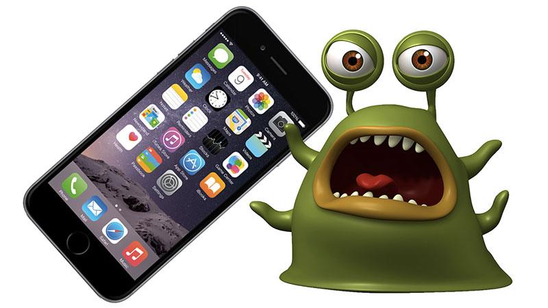 iphone bug