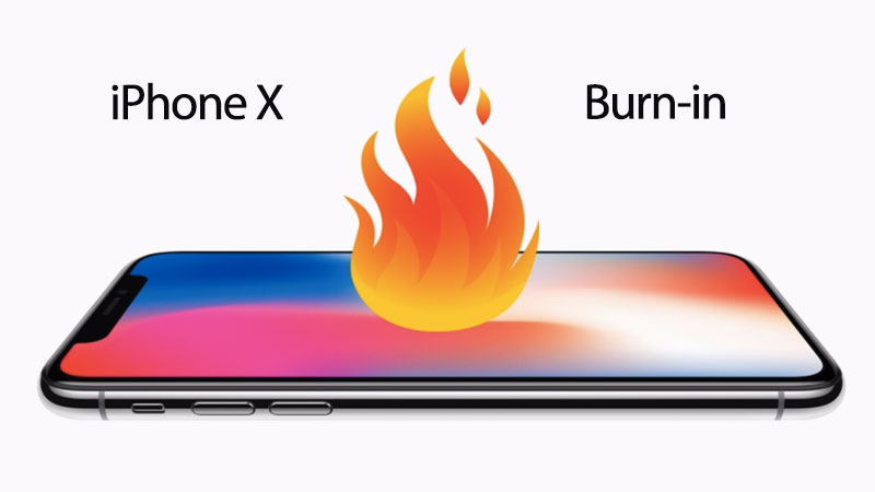 iphone burn-in issue