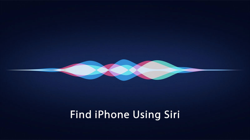find iphone using siri