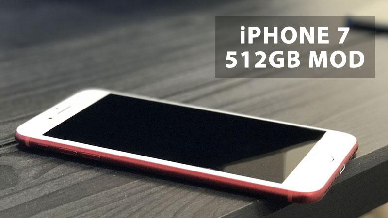 iphone 7 512gb mod