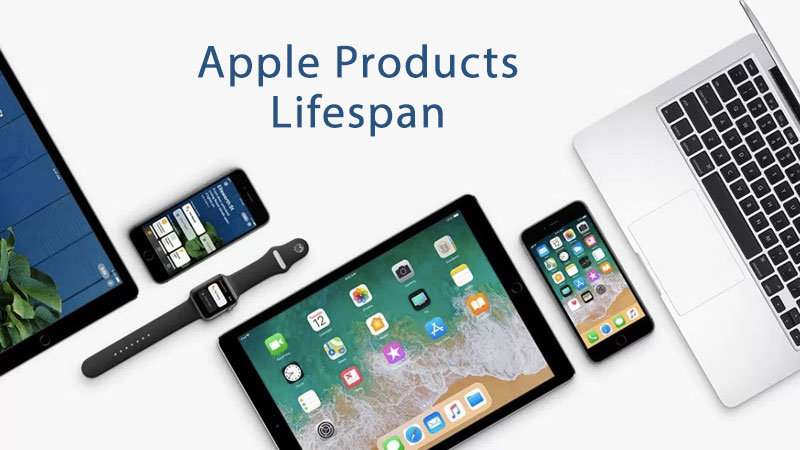apple products lifespan
