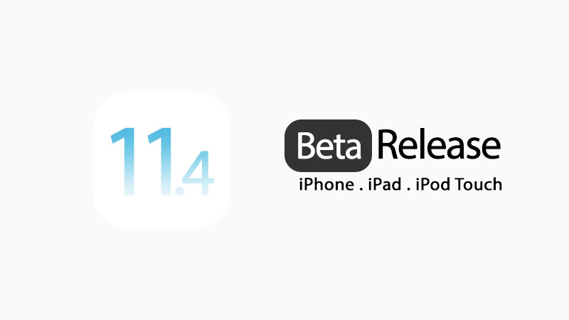 ios 11.4 beta download
