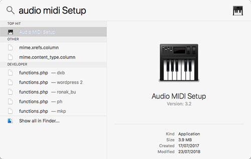 audio midi setup to use multiple headphones