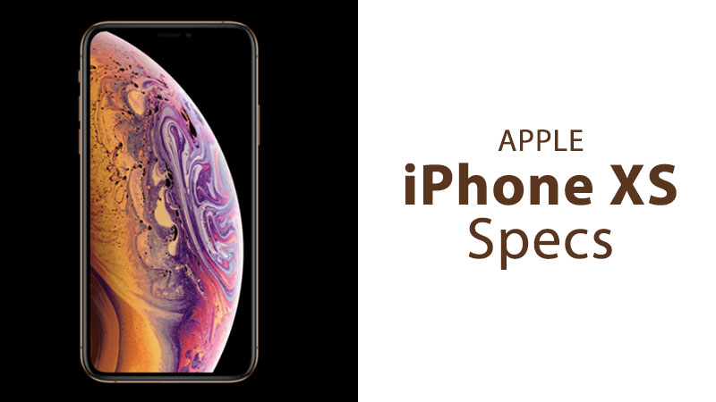 apple iphone xs specs