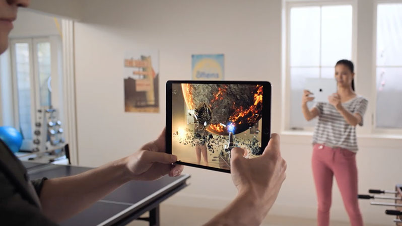 augmented reality ios 12 feature