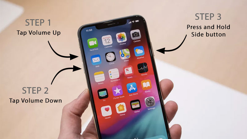 how to hard reset iphone xs max