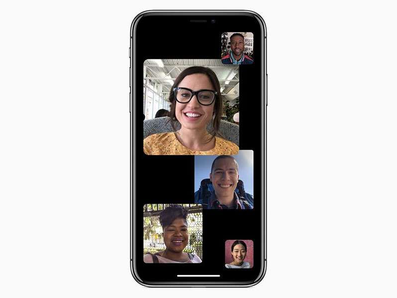 ios 12 facetime group call