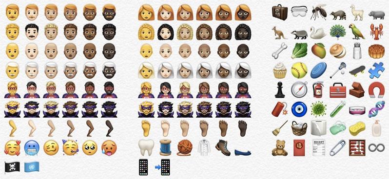 ios 12.1 new emojis