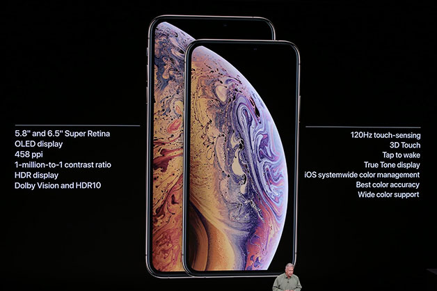 iphone XS announced