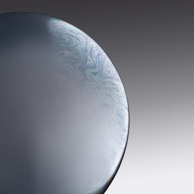 iphone xr wallpaper Bubble White