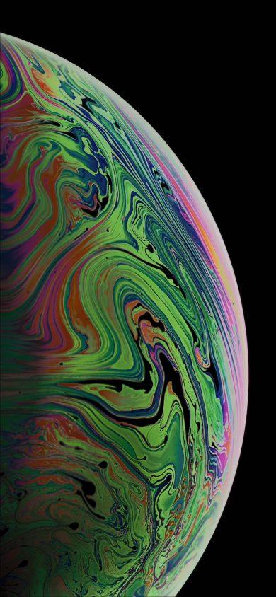 iphone xs Max wallpaper BubbleA argon