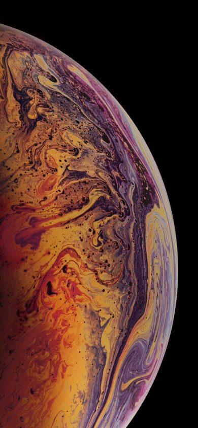 iphone xs Max wallpaper BubbleB argon