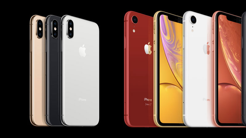 iphone xs vs iphone xr design difference