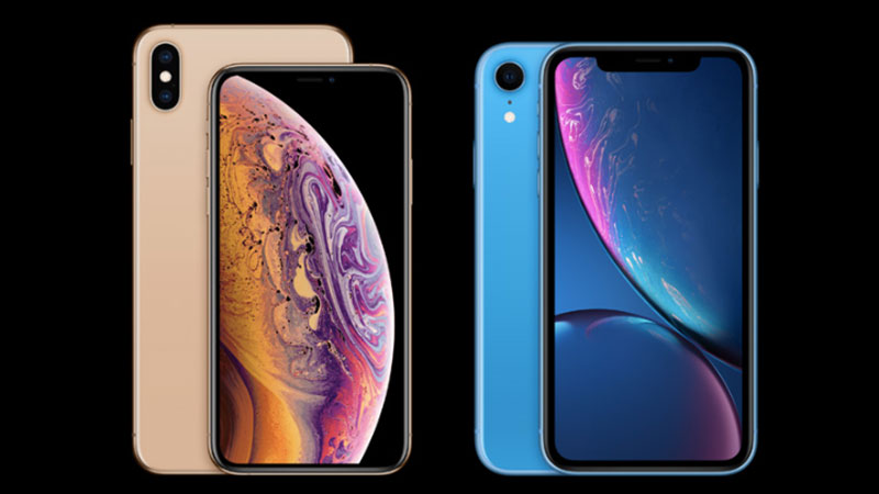 iphone xs vs iphone xr display difference