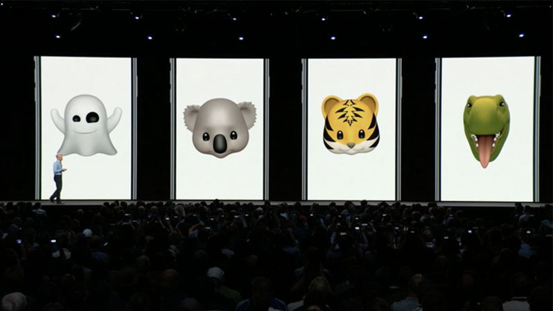 new animoji in ios 12