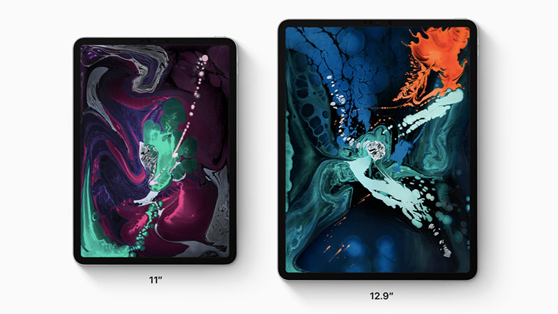 2018 ipad pro sizes