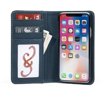 Bella Fino iPhone XR Wallet Case