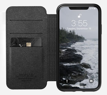 Nomad Rugged Folio iPhone XR Wallet case