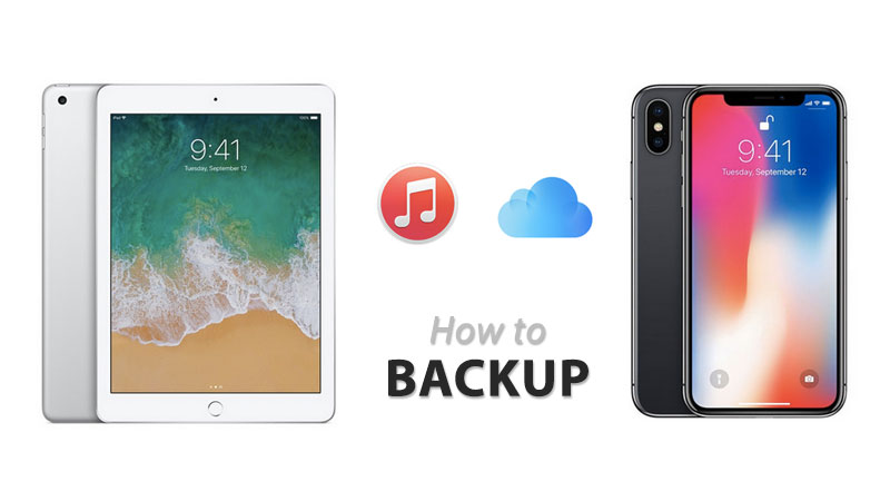 how to backup iphone or ipad