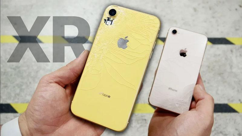 iphone xr drop test