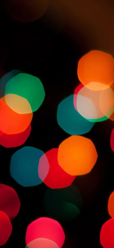 wallpaper christmas bokeh iPhone XR Wallpapers 828x1792