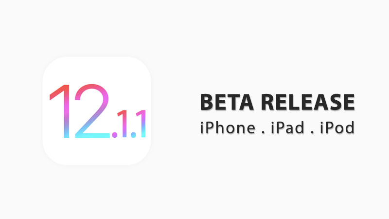 ios 12.1.1 beta download