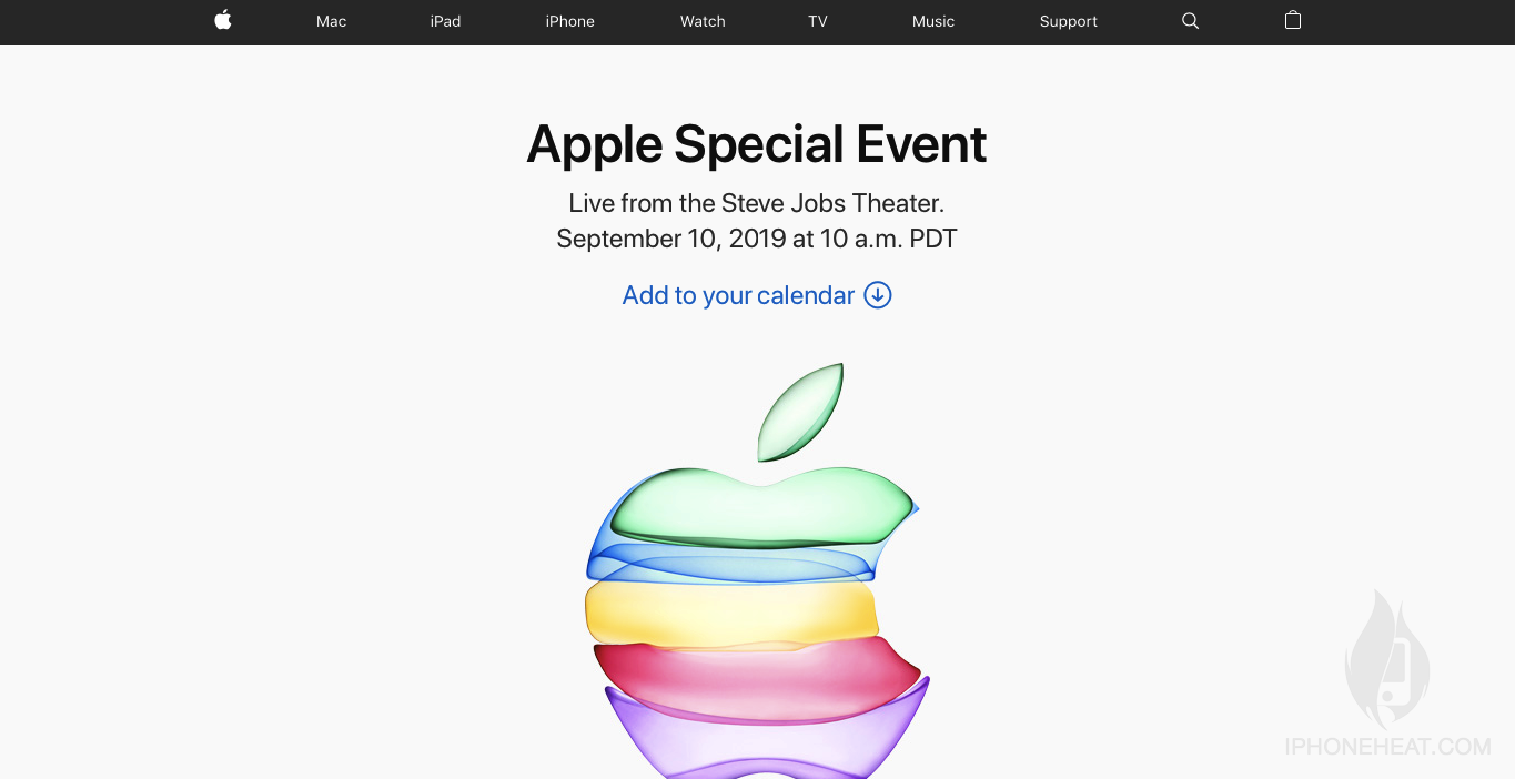 Apple event on Mac