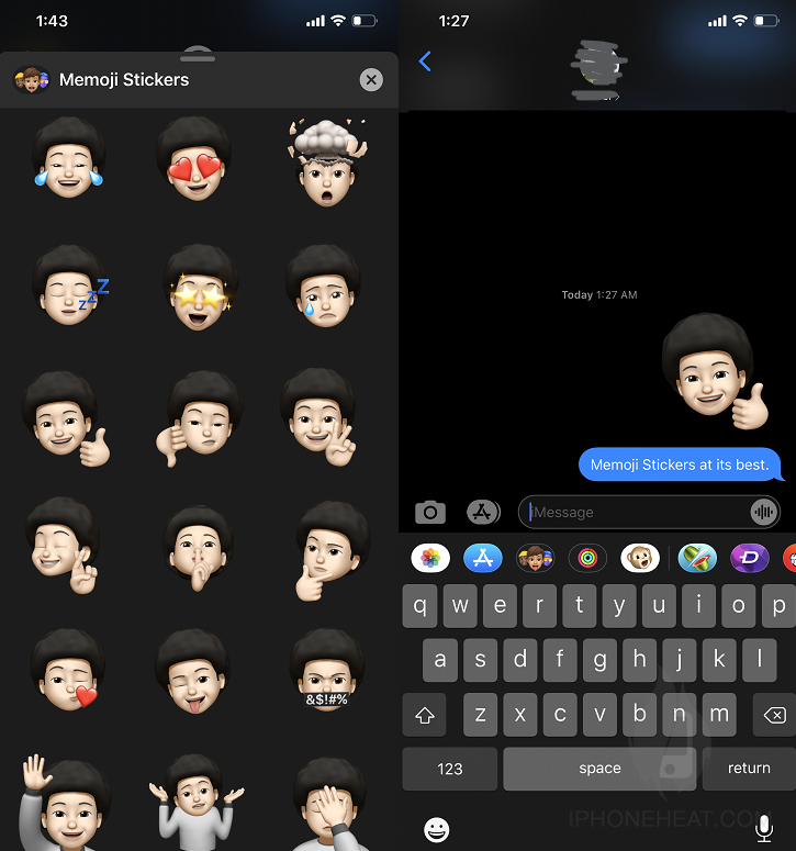 Memoji Support with Social Apps