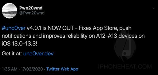 unc0ver Jailbreak for iPhone 11 Pro Max, iPhone 11 Pro & iPhone 11